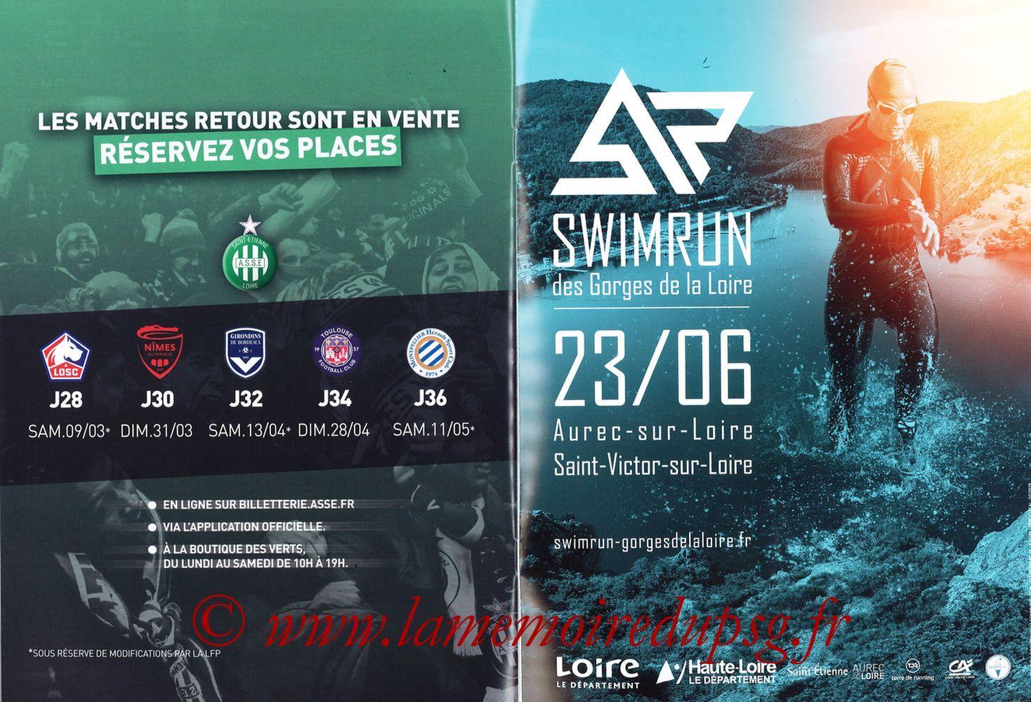 2019-02-17  Saint Etienne-PSG (25ème L1, Maillot Vert N° 13) - Pages 26 et 27