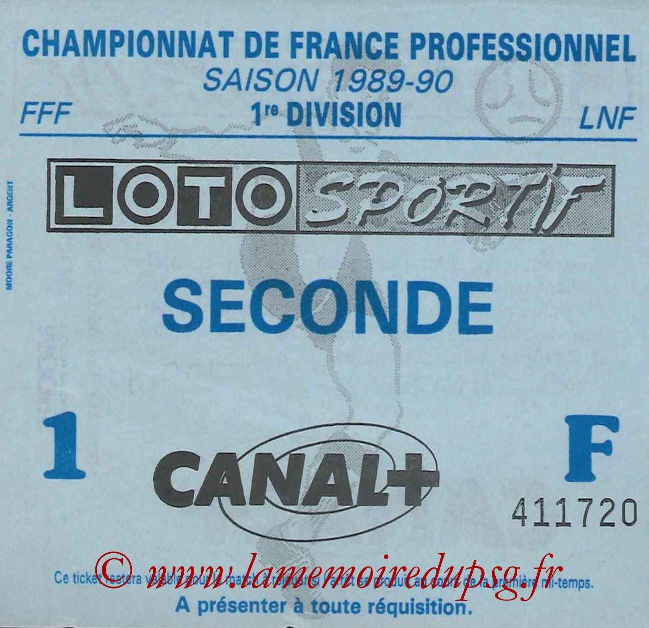 1989-08-26  Brest-PSG (7ème D1, sans nom)
