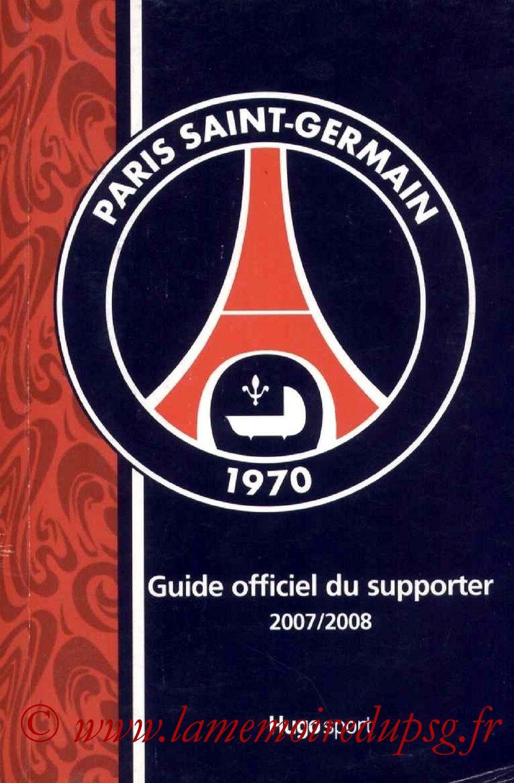2007-08 - Guide de la Saison PSG