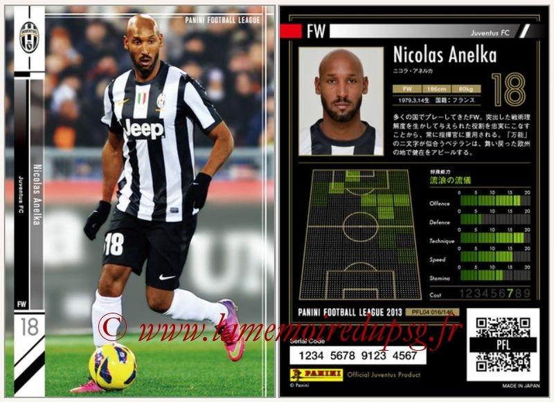 N° 016 - Nicolas ANELKA (1995-97 puis 2000-Jan 02, PSG > Jan 2013, Juventus Turin, ITA)