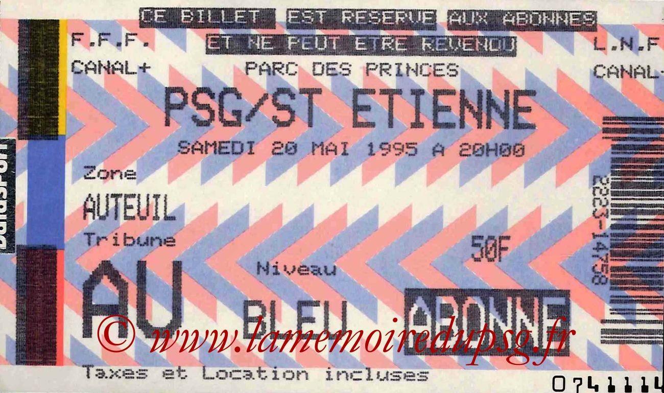 1995-05-20  PSG-Saint Etienne (36ème D1)