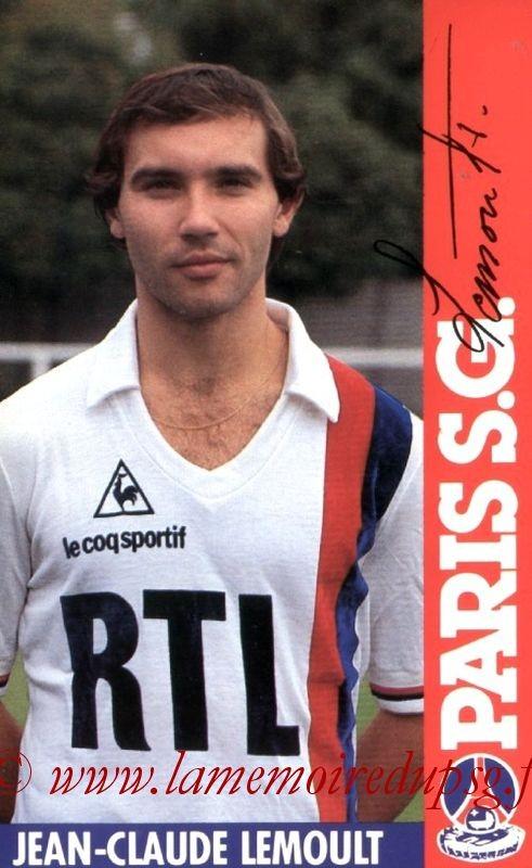 LEMOULT Jean-Claude  84-85