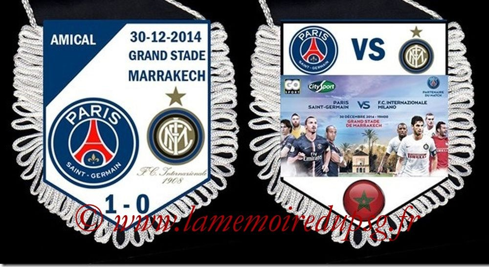 2014-12-30  PSG-Inter (Amical à Marrakech)