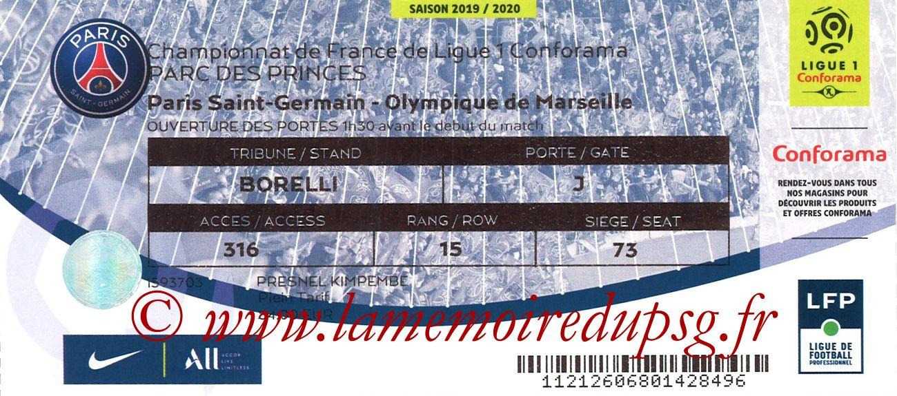 2019-10-27  PSG-Marseille (11ème L1)
