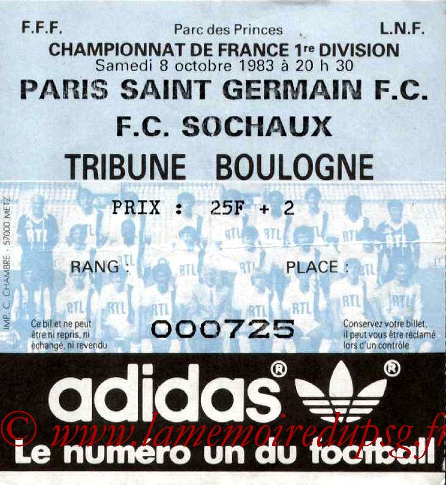 1983-10-08  PSG-Sochaux (13ème D1)