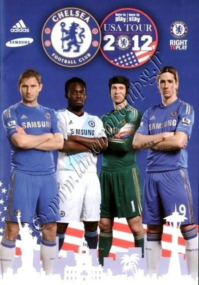 2012-07-22  Chelsea-PSG (Amical à New York, Programme tournée Chelsea)