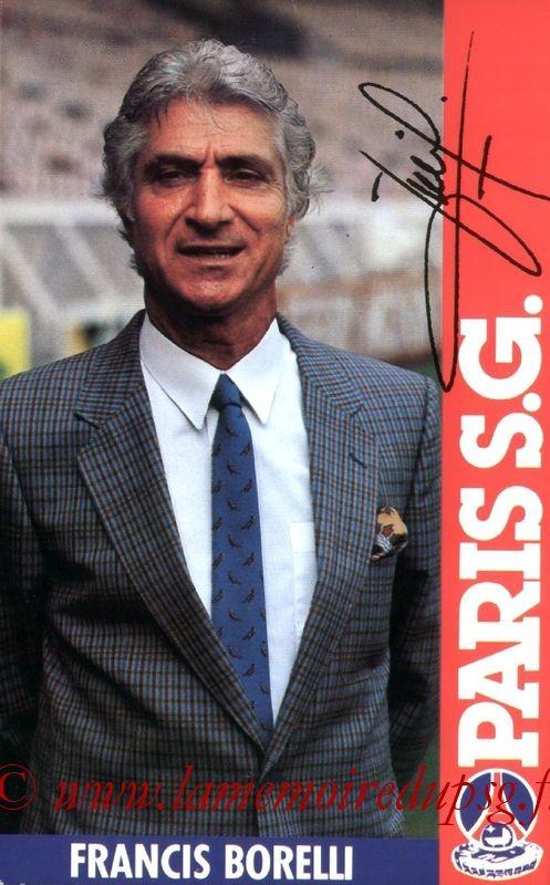 BORELLI Francis  84-85
