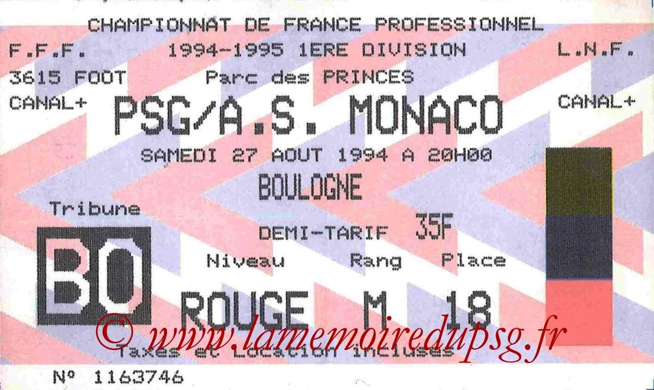 1994-08-27  PSG-Monaco (6ème D1)bis