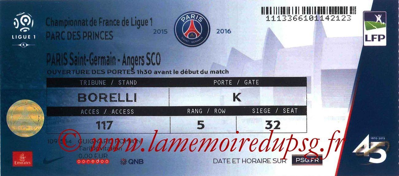 2016-01-23  PSG-Angers (22ème L1)