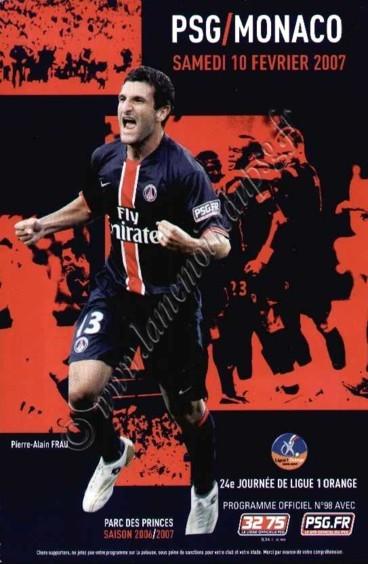 2007-02-10  PSG-Monaco (24ème L1, Officiel N°98)