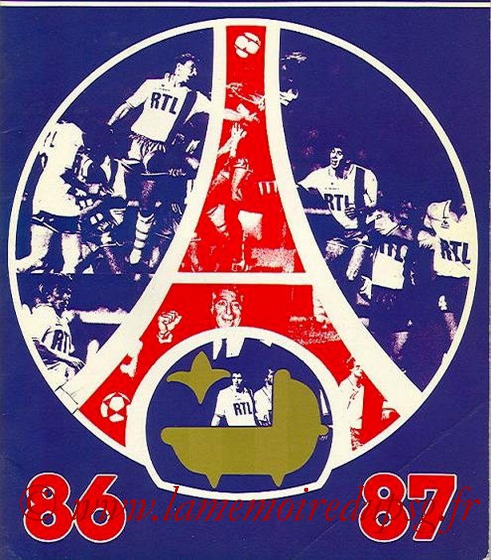 1986-07  Guide de la saison 86-87