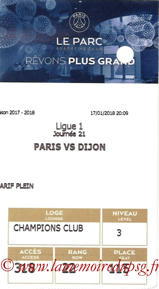2018-01-17  PSG-Dijon (21ème L1, E-ticket Executive club)
