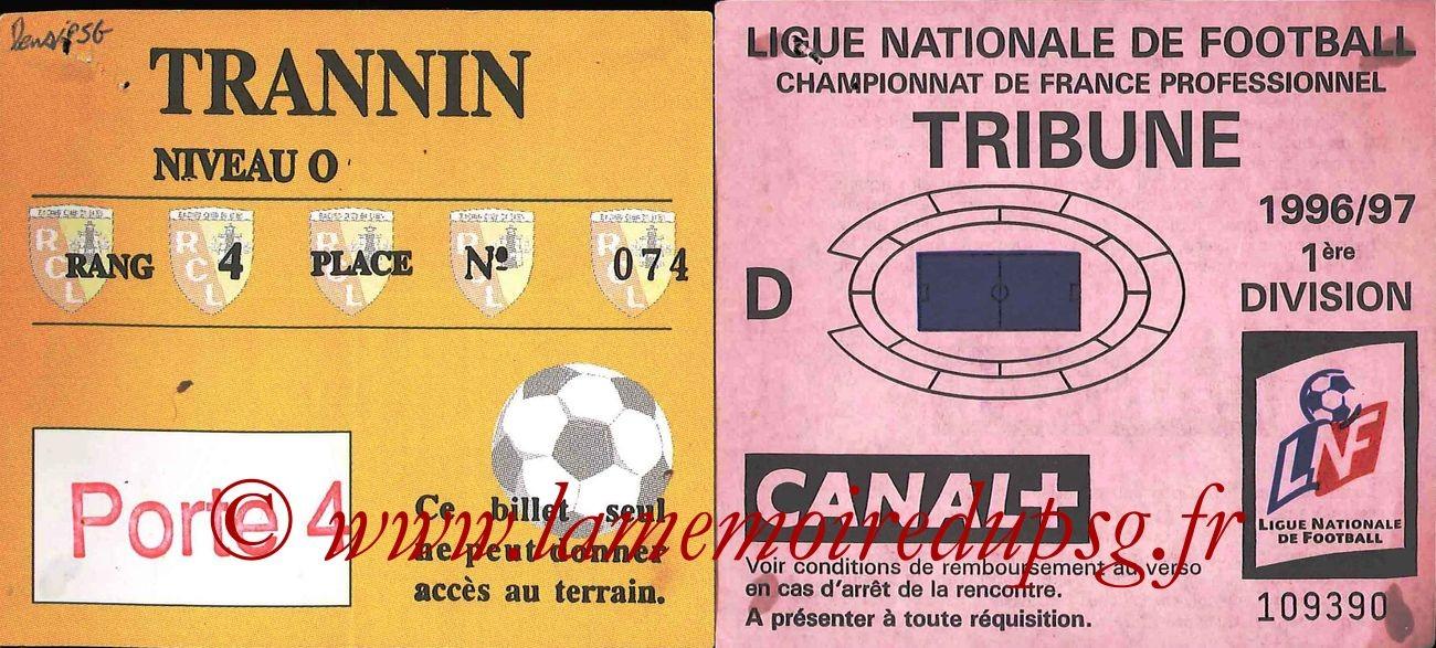 1997-02-13  Lens-PSG (26ème D1,bis, sans nom)
