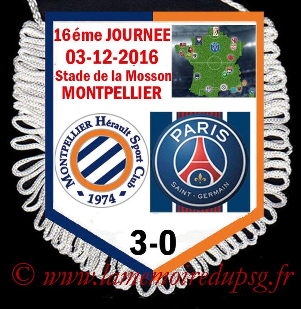 2016-12-03  Montpellier-PSG (16ème L1)