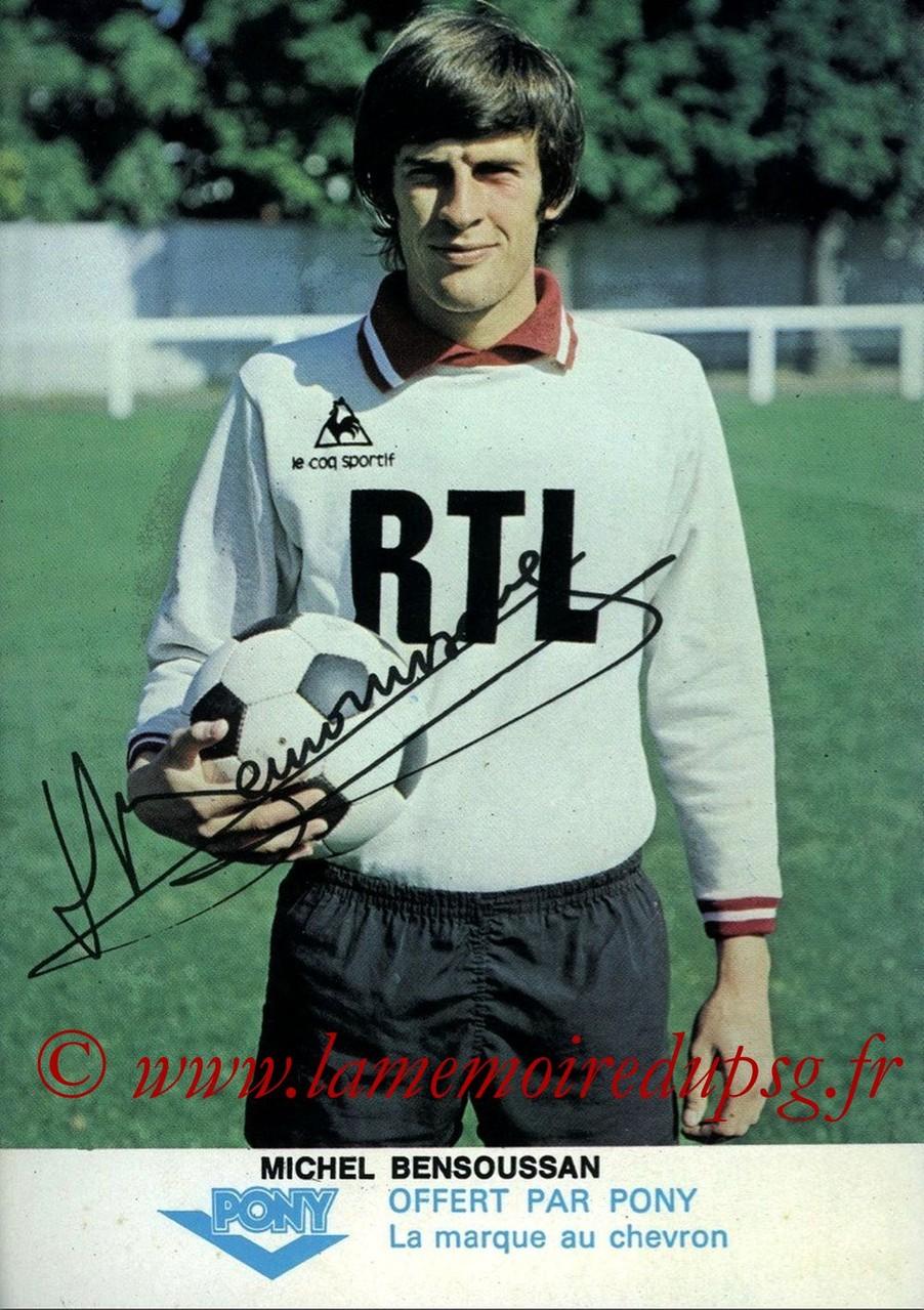 BENSOUSSAN Michel  77-78