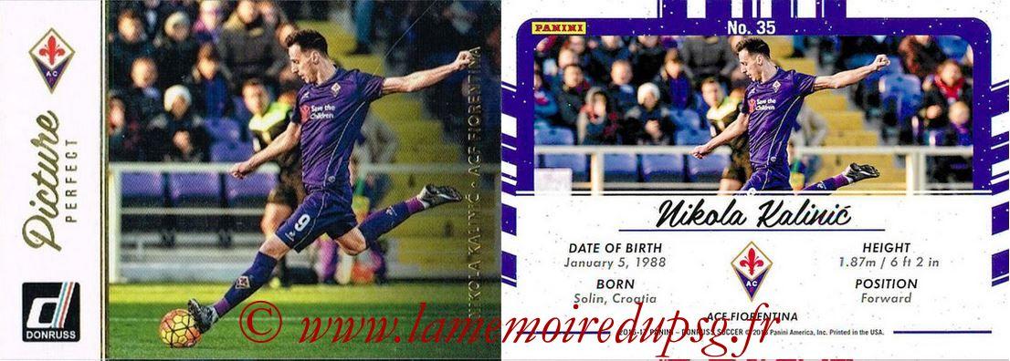 2016 - Panini Donruss Cards - N° PP35 - Nikola KALINIC (ACF Fiorentina) (Picture Perfect)
