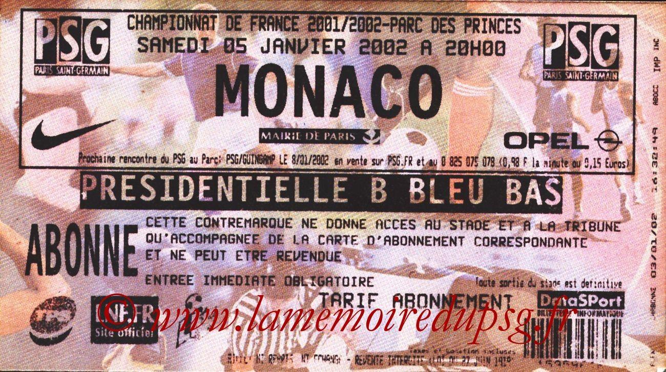2002-01-05  PSG-Monaco (20ème D1)