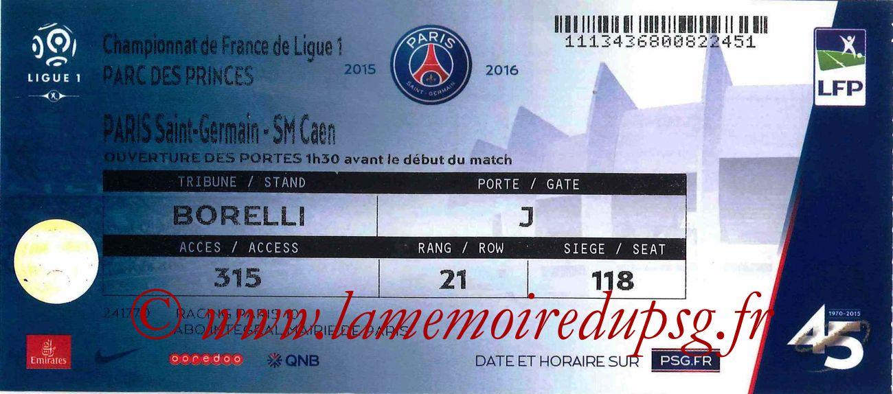 2016-04-16  PSG-Caen (34ème L1)