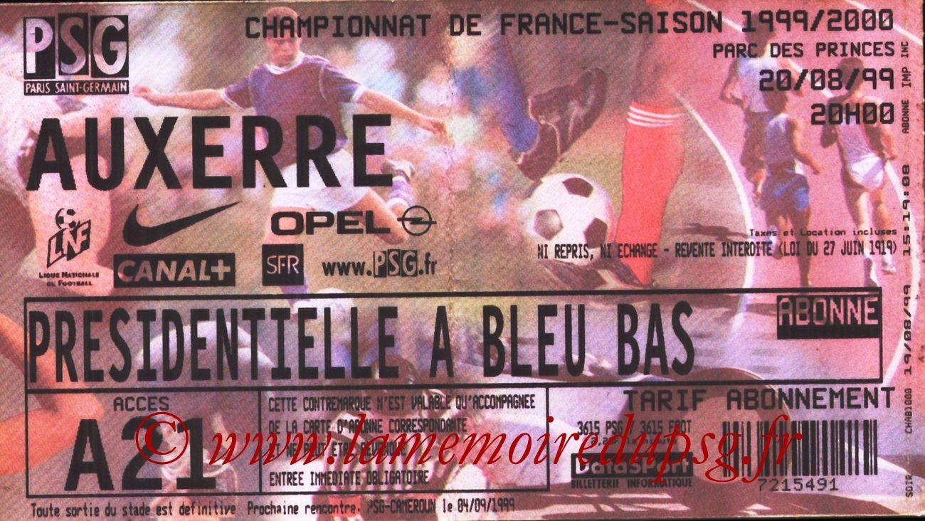 1999-08-20  PSG-Auxerre (4ème D1)