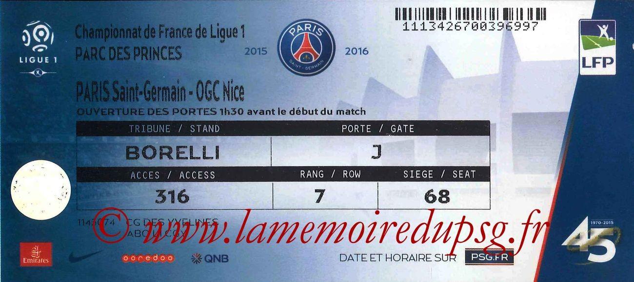 2016-04-02  PSG-Nice (32ème L1)
