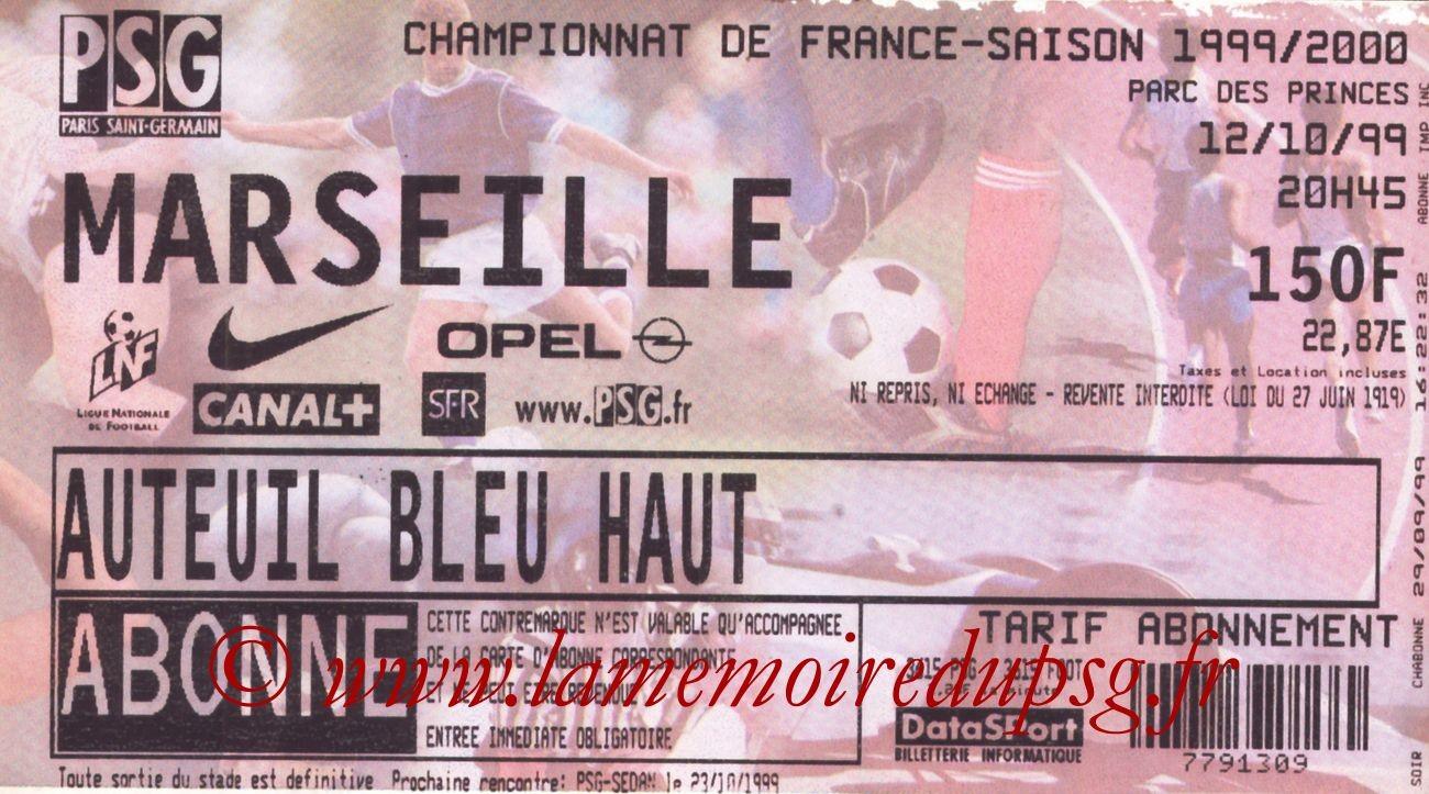 1999-10-12  PSG-Marseille (10ème D1)