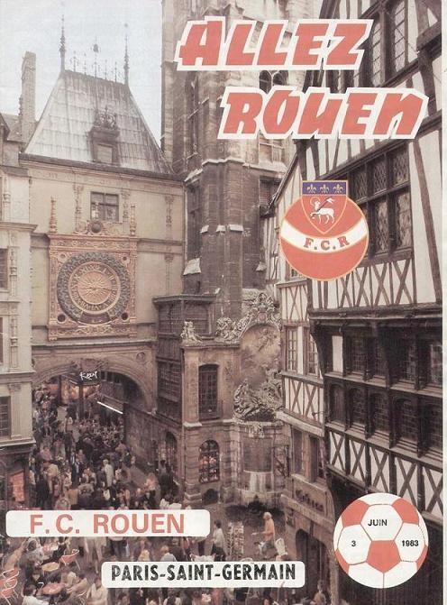 1983-06-03  Rouen-PSG (38ème D1, Allez Rouen)