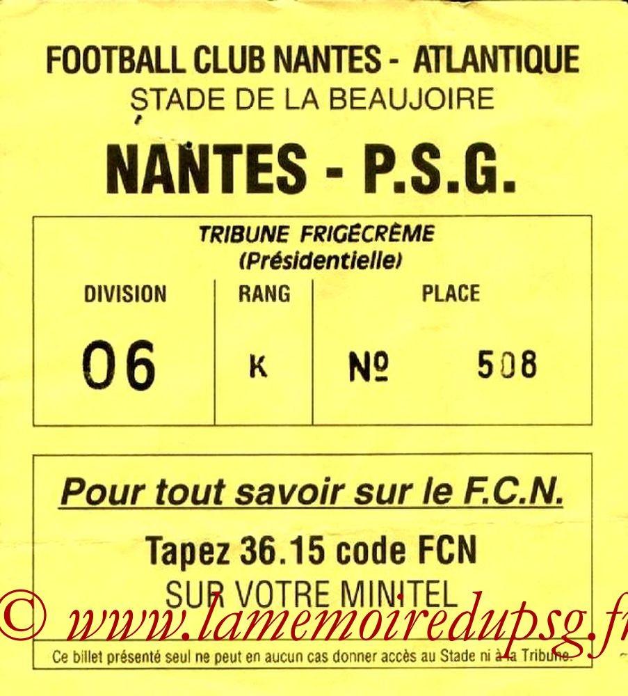 1992-12-12  Nantes-PSG (18ème D1)