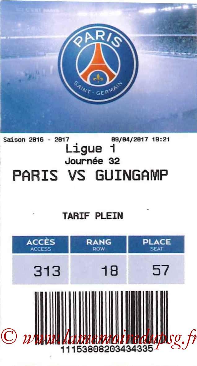 2017-04-09  PSG-Guingamp (32ème L1, E-ticket)