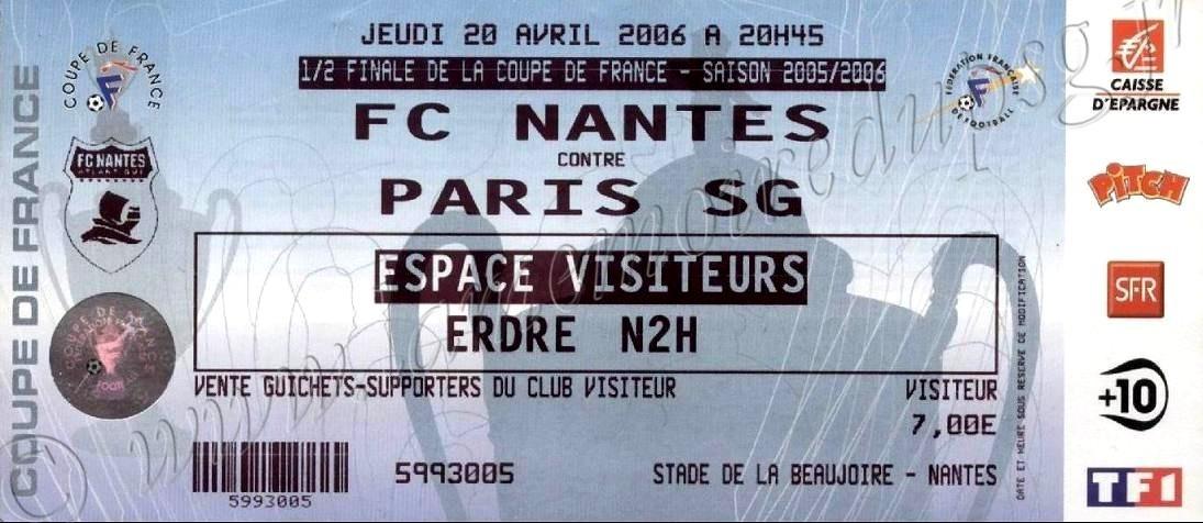 2006-04-20  Nantes-PSG (Demi-Finale CF)
