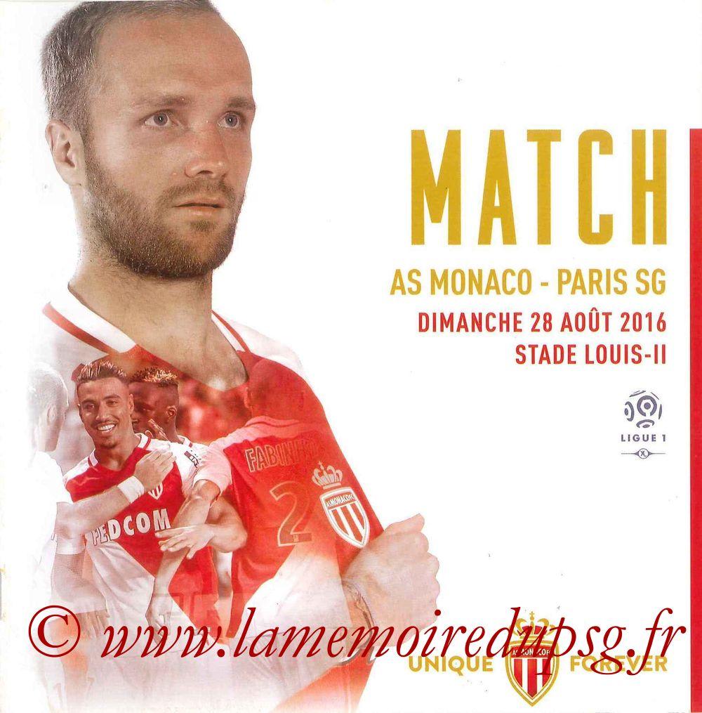2016-08-28  Monaco-PSG (3ème L1, Programme officiel)