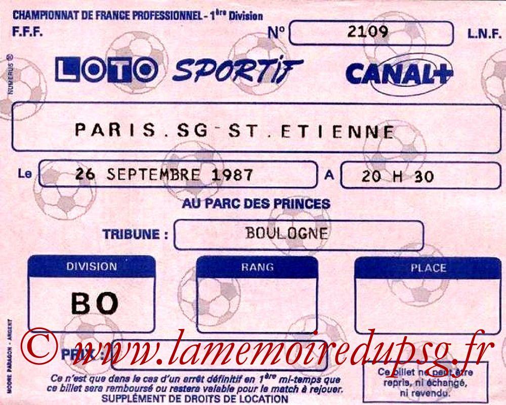 1987-09-26  PSG-Saint Etienne (12ème D1)