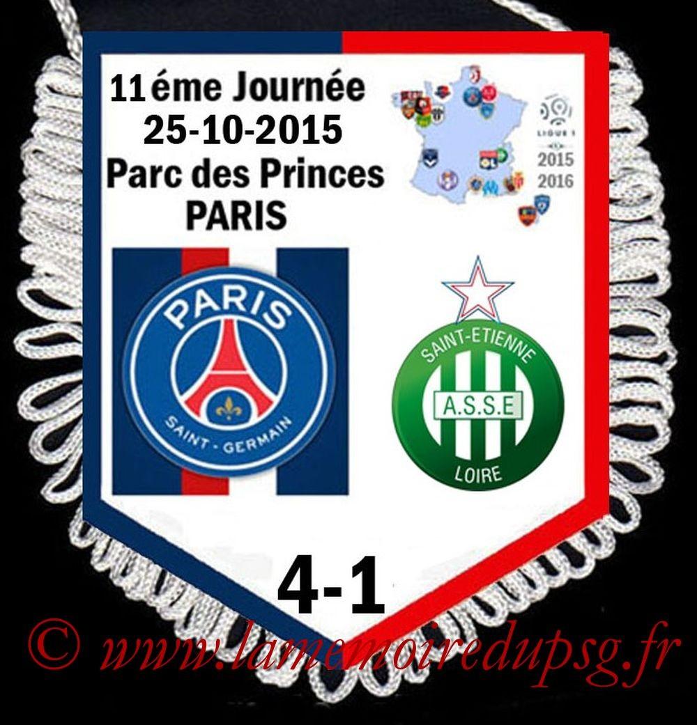 2015-10-25  PSG-St Etienne (11ème L1)
