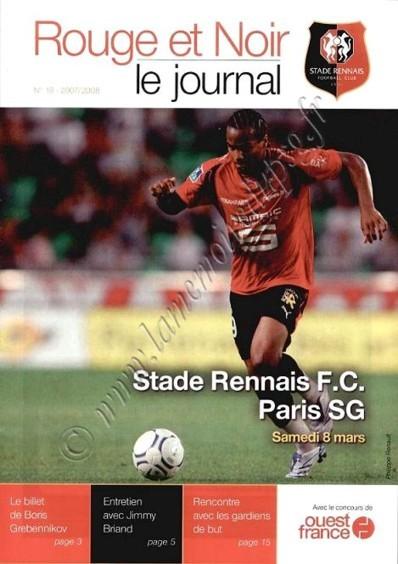 2008-03-08  Rennes-PSG (28ème L1, Rouge et Noir N°18)