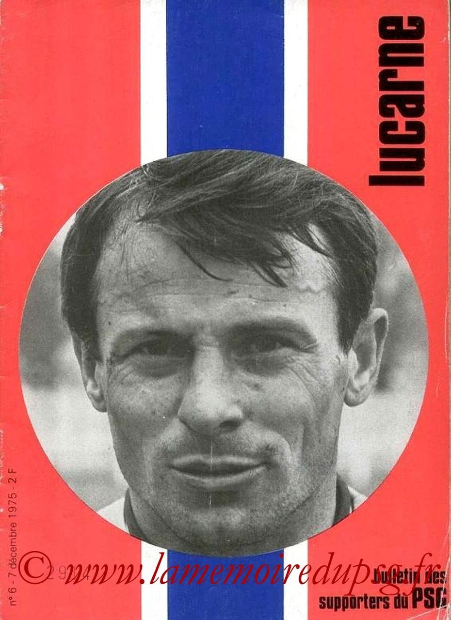 1975-12-07  PSG-Sochaux (18ème D1, Lucarne N°6)