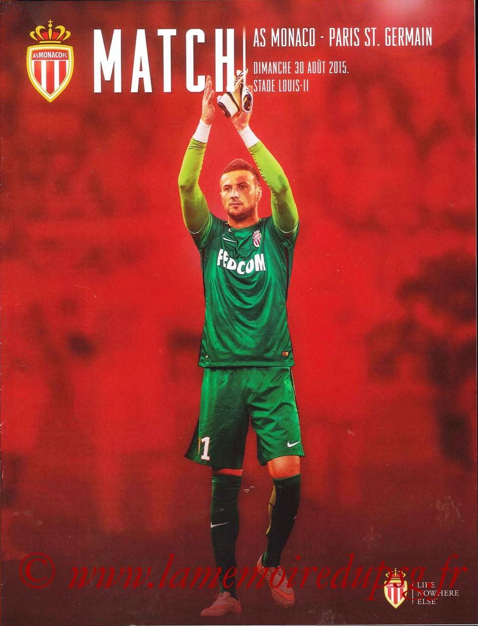 2015-08-30  Monaco-PSG (4ème L1, Match)