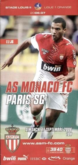 2006-09-17  Monaco-PSG (6ème L1, ASM FC le Match)