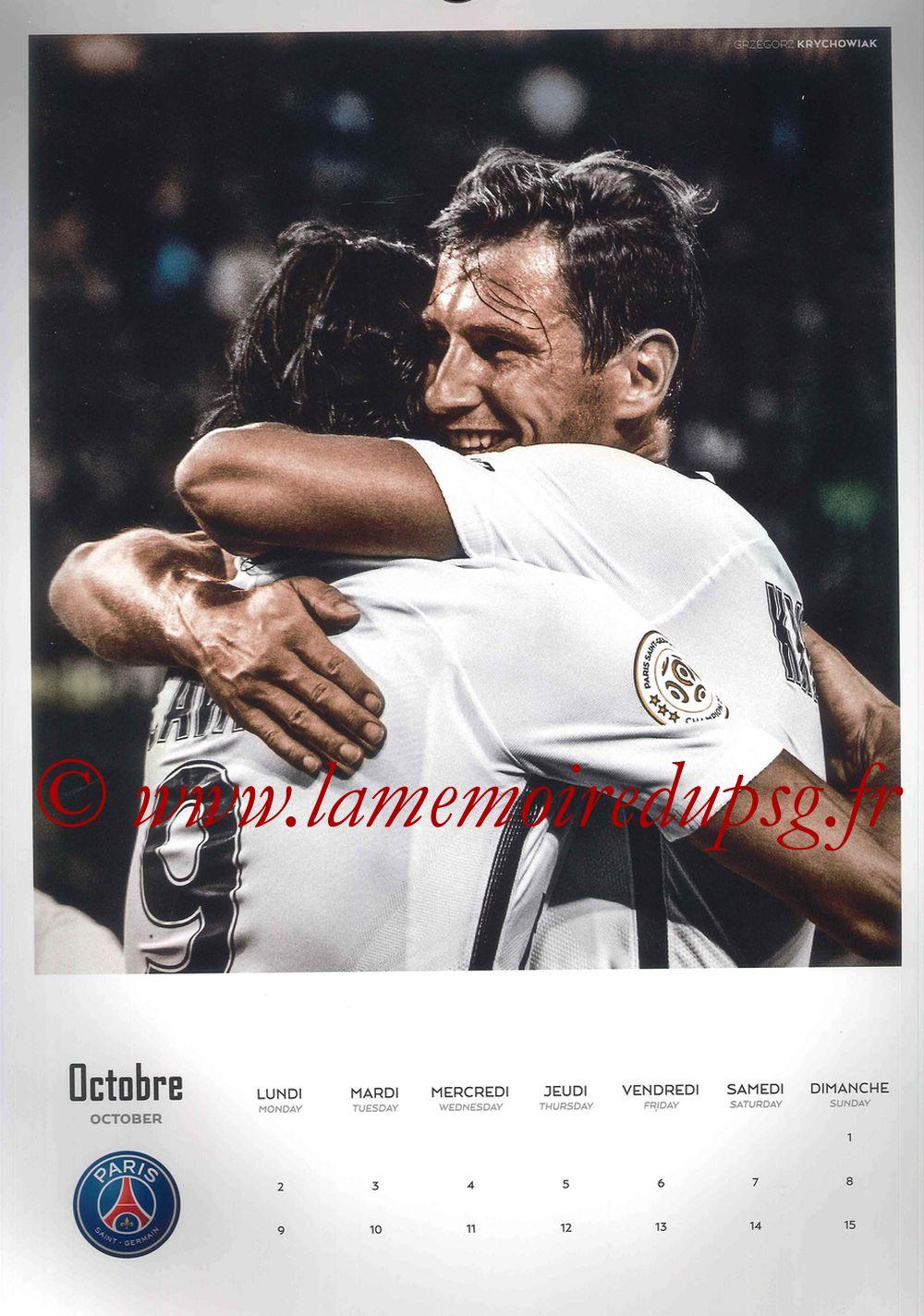 Calendrier PSG 2017 - Page 19 - Grzegorz KRYCHOWIAK