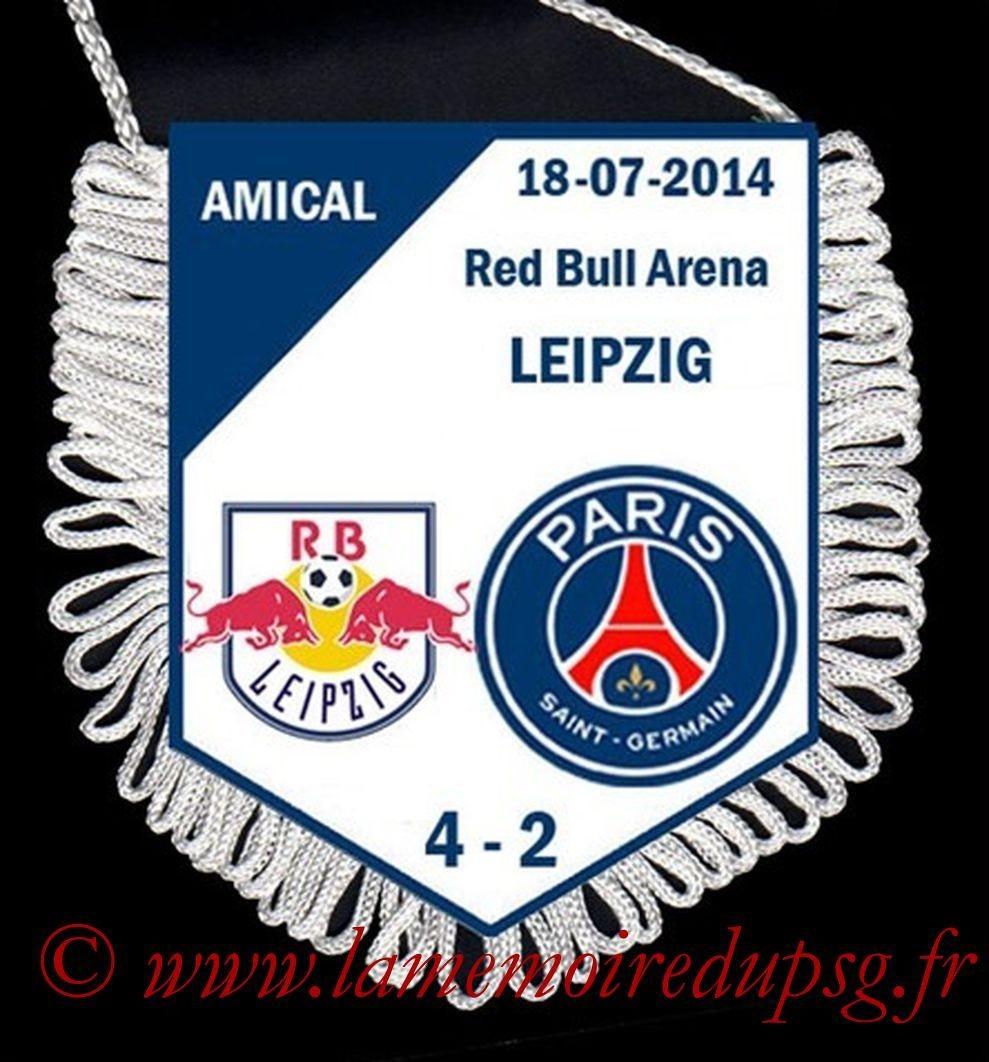 2014-07-18  Leipzig-PSG (Amical à Leipzig)