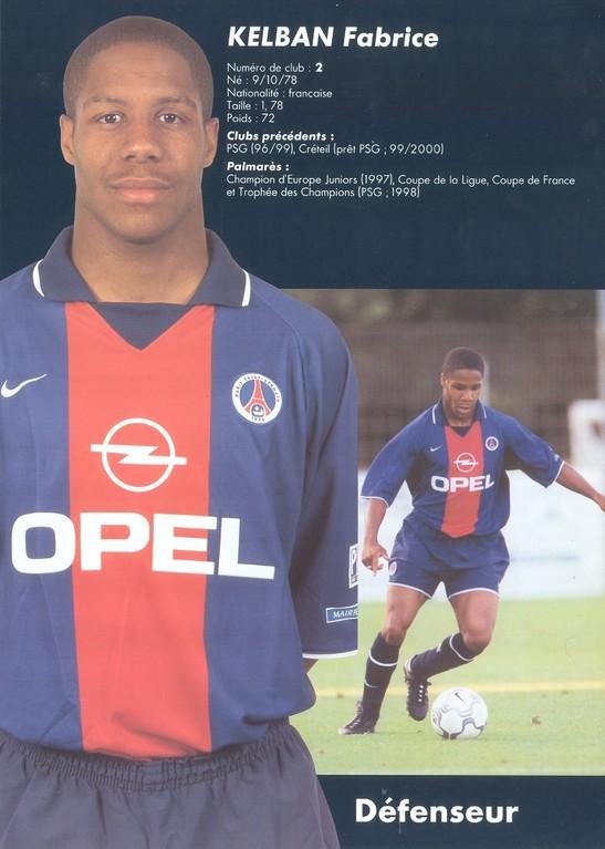 2000-01 - KELBAN Fabrice
