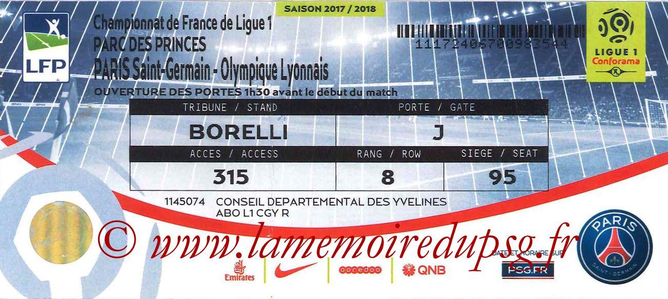 2017-09-17  PSG-Lyon (6ème L1 bis)