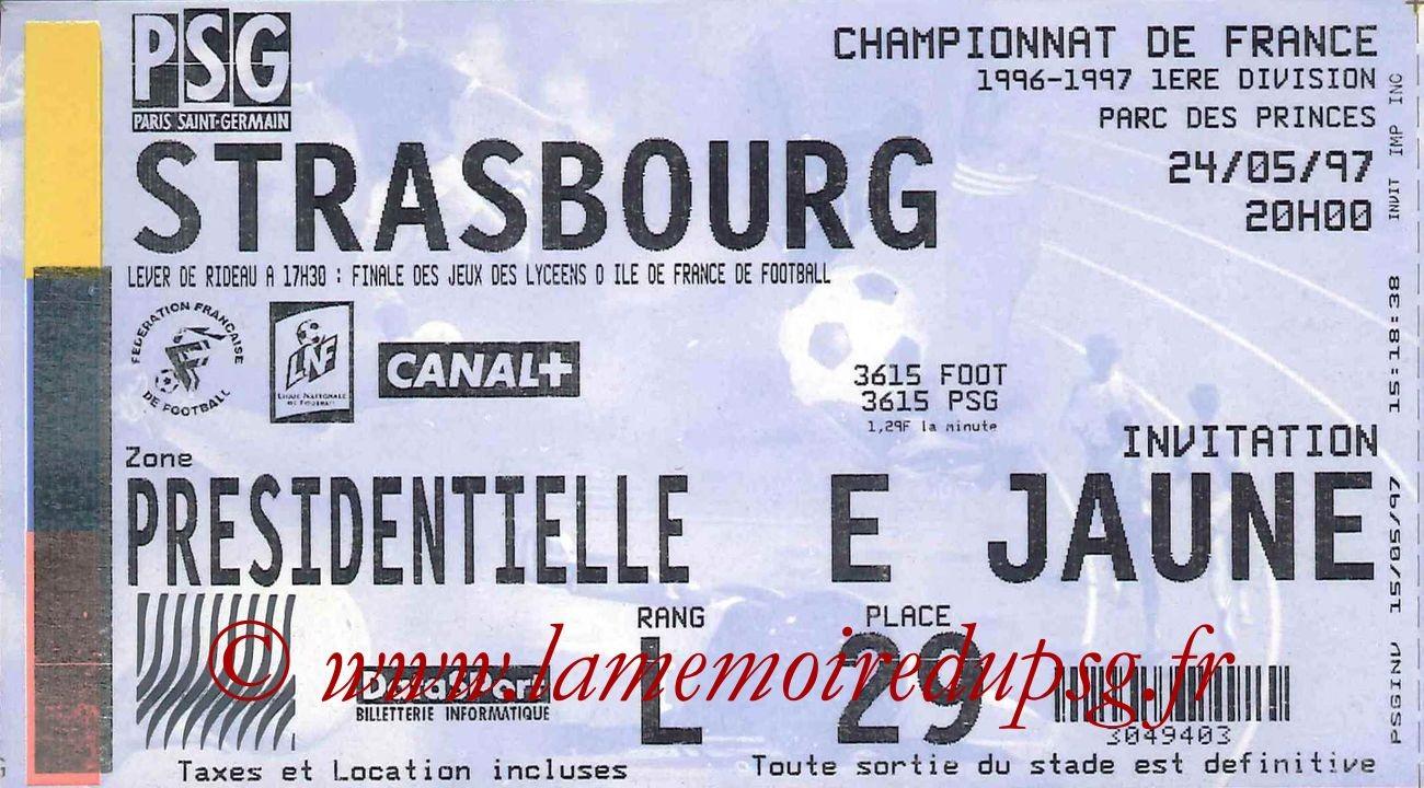 1997-05-24  PSG-Strasbourg (38ème D1)
