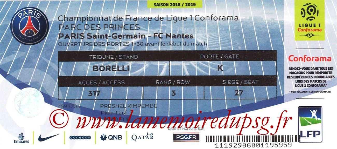 2018-12-22  PSG-Nantes (19ème L1)