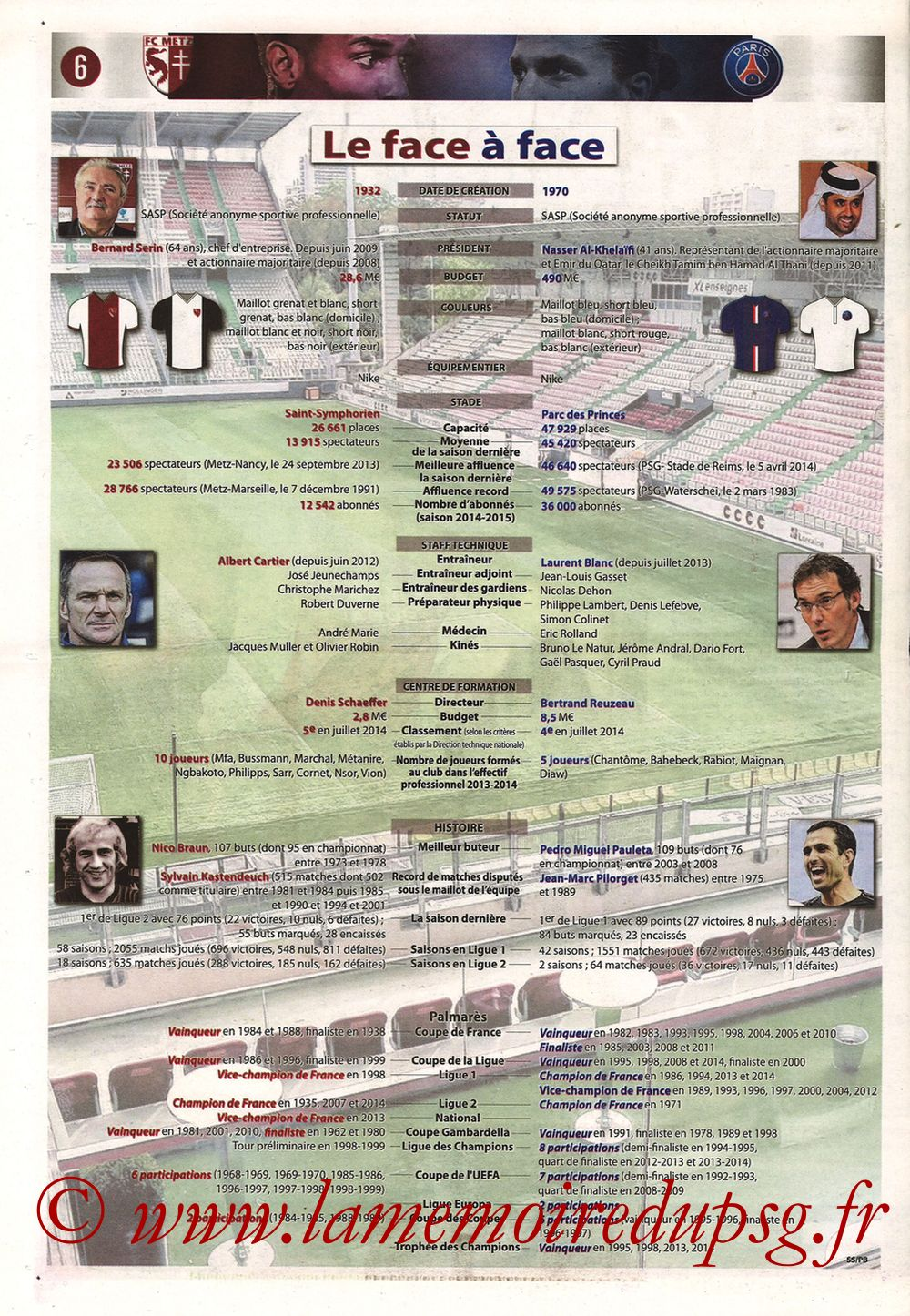 2014-11-21  Metz-PSG (16ème L1, Le Républicain Lorrain) - Page 06