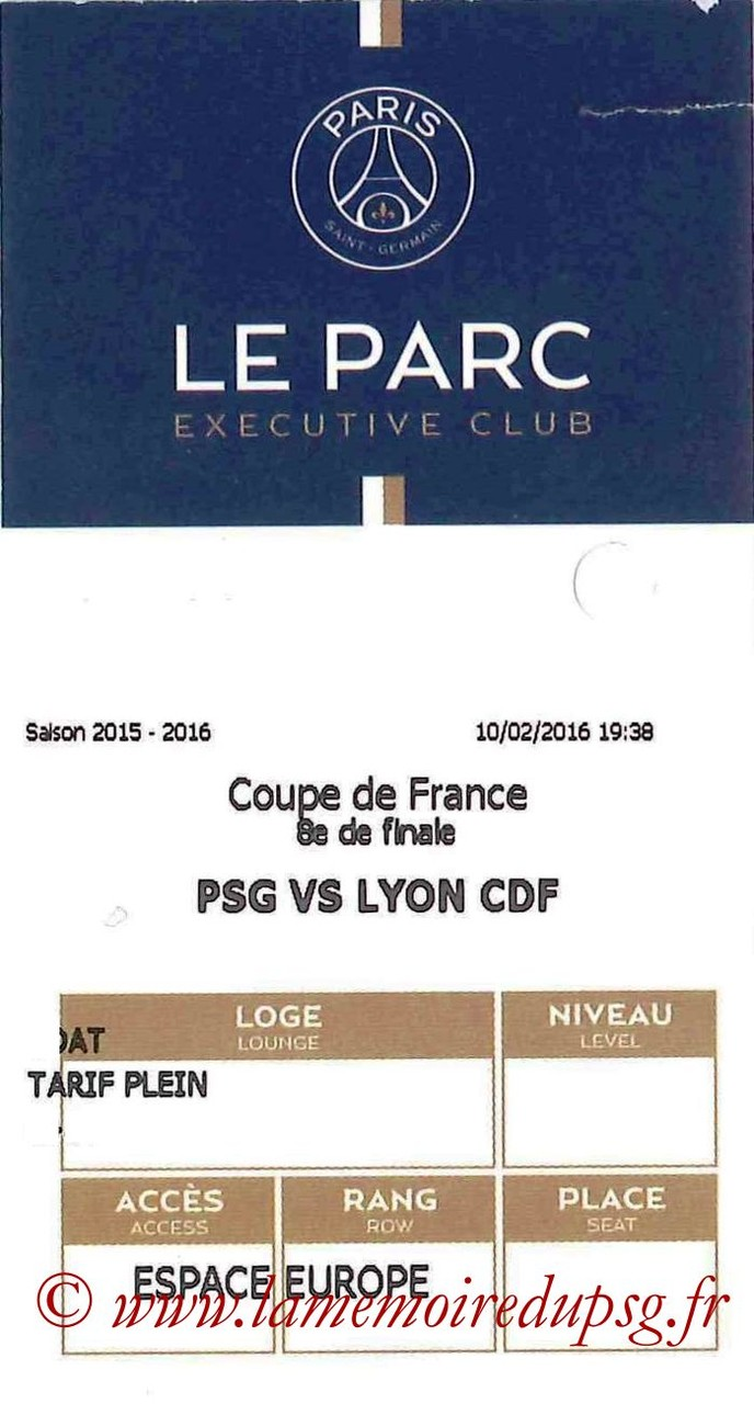 2016-02-10  PSG-Lyon (8ème CF, E-ticket Executive club)