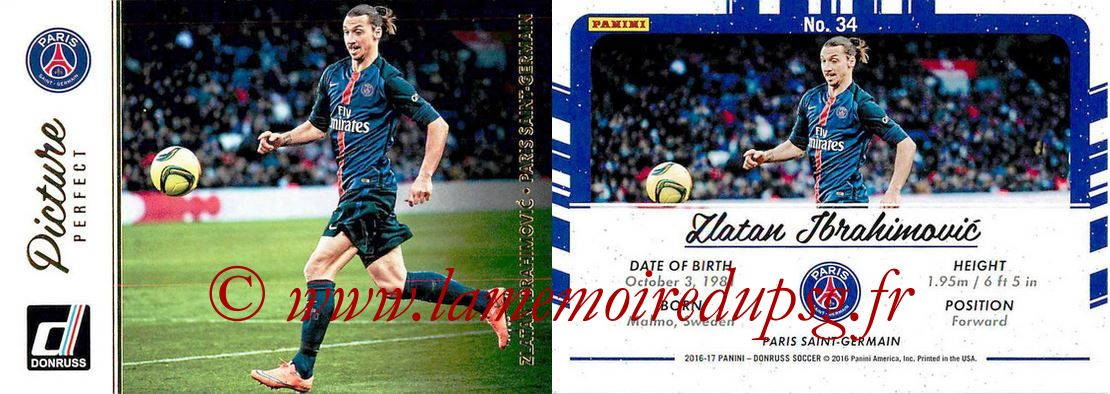 N° PP34 - Zlatan IBRAHIMOVIC (Picture Perfect)