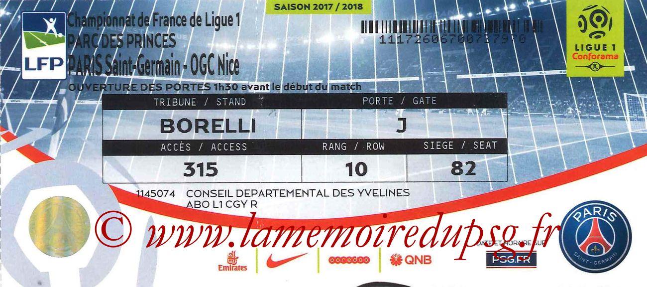 2017-10-27  PSG-Nice (11ème L1bis)