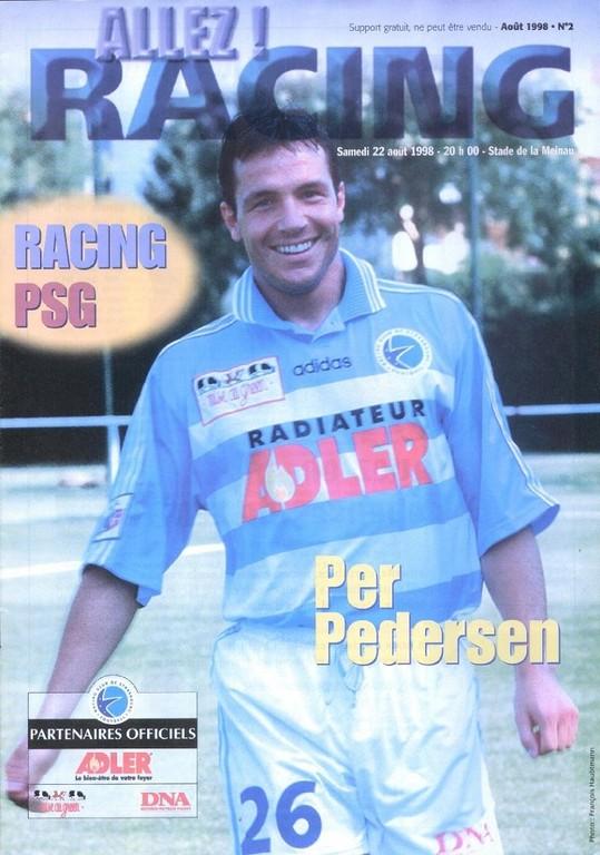 1998-08-22  Strasbourg-PSG (3ème D1, Allez Racing N°2)