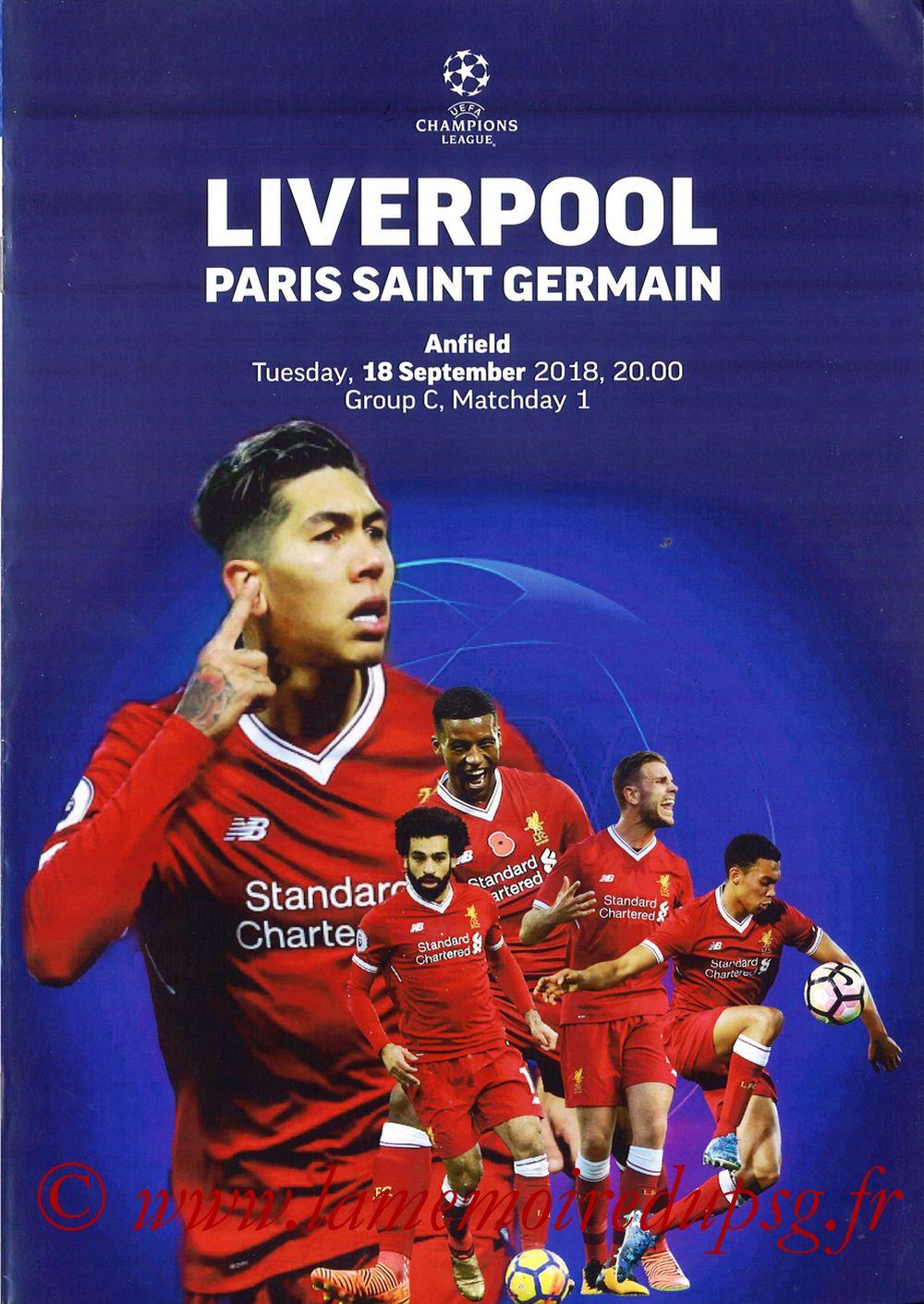2018-09-18  Liverpool-PSG (1ère C1, Programme pirate)