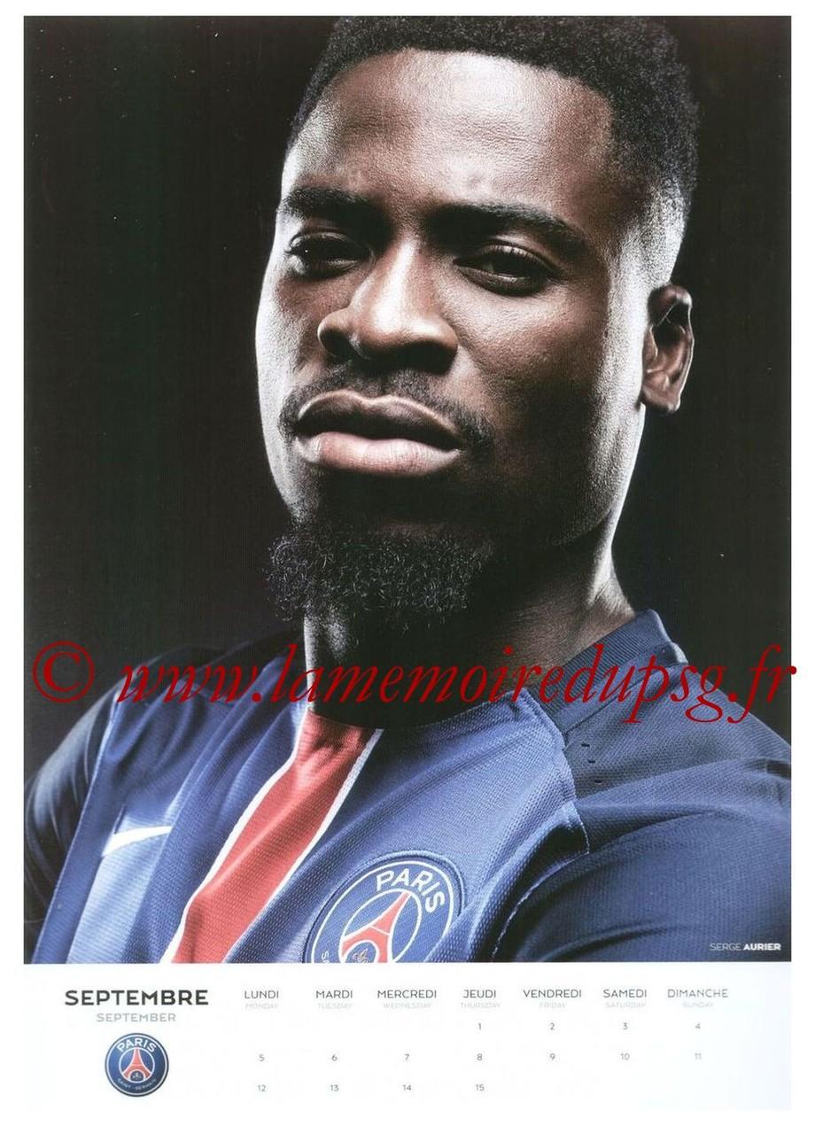 Calendrier PSG 2016 - Page 17 - Serge AURIER