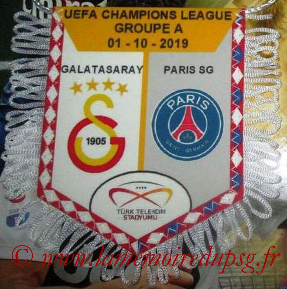 2019-10-01  Galatasaray-PSG (2ème Poule C1)